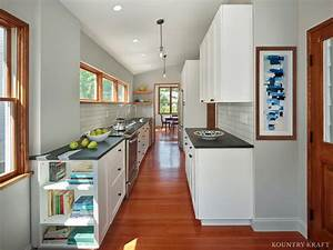 Narrow Kitchen Cabinets in Princeton, New Jersey