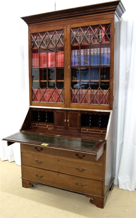 bureau atlas edwardian mahogany bureau bookcase antiques atlas