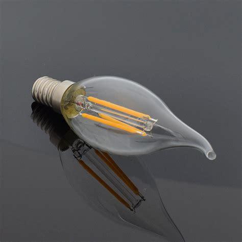 b2423 30 sp light bulb e12 e14 filament led light candle flame bulb chandelier