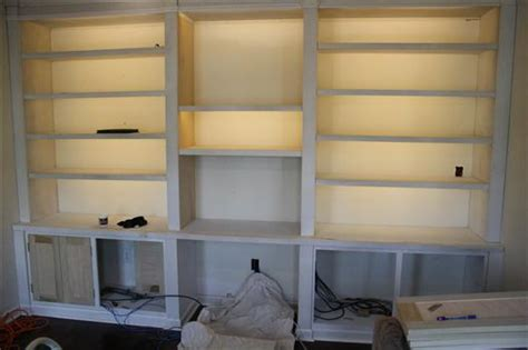 Bookcase Lights by How To Install Inexpensive Energy Efficient Cabinet