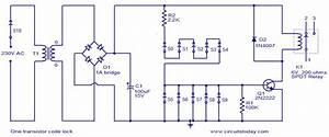 U0026gt One Transistor Code Lock