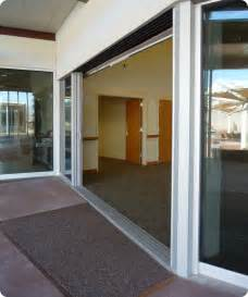 sliding doors valley visitor center sliding doors