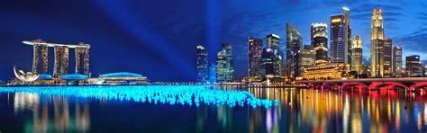 Marina Bay Sands Panorama, Singapore - Wallpaper #41954
