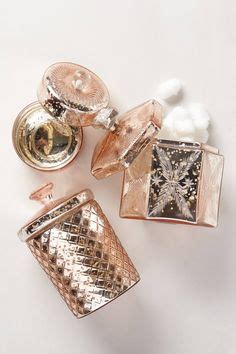 Pink Mercury Glass Bathroom Accessories anthropologie blush pink mercury glass vase