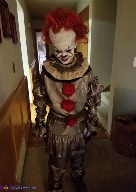 scary pennywise child costume unique diy costumes