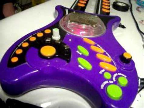 Circuit Bent Kawasaki Double Neck Guitar Toy Youtube