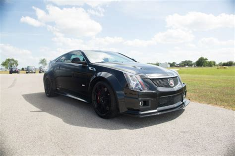 hennessey hpe widebody cts  cadillac coupe