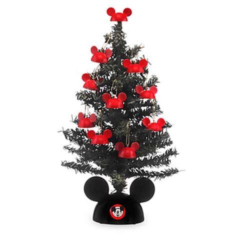 disney christmas tree miniature santa mickey tree