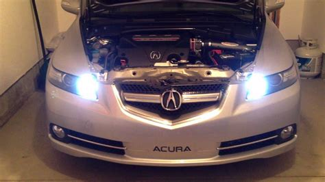 08 acura tl type s drl kit youtube