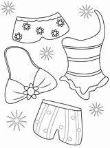 Colorano Colorant Zwempakken Maillot Dei Insieme Nell sketch template