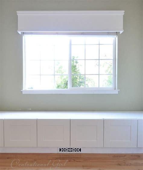 window seat built  ikea refrigerator cabinets