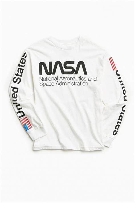 nasa worm logo sleeve outfitters