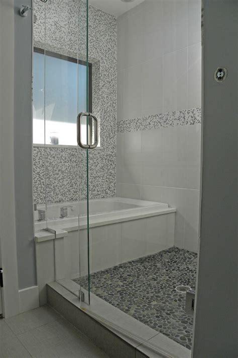 www flooranddecoroutlets pebble tile floor and wall tall