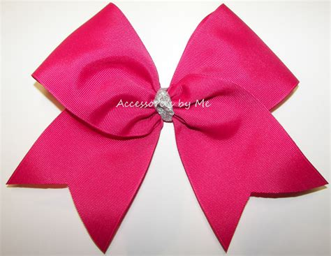 big bow pictures hair bows big cheer bow pink 5 00