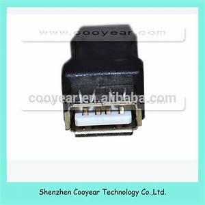 Usb 2 0 A Female To B Male Printer Cable Converter Adapter