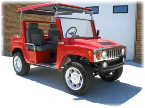 Hummer Golf Buggy