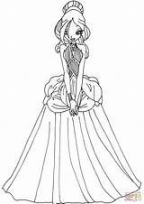 Coloring Pages Dresses Printable Winx Daphne Club Deviantart Elfkena Drawing Template Google Supercoloring Getdrawings Princess Mythix Getcolorings Colorings Paper Login sketch template