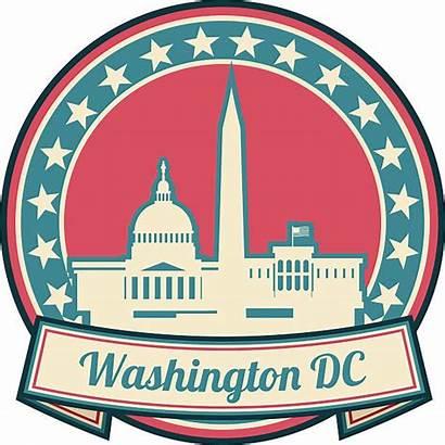 Washington Dc Clipart Skyline Clip Illustrations Monument