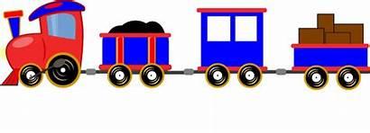Train Cars Trains Choo Clipart Cartoon Clip