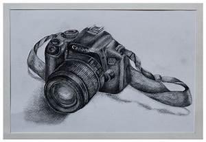 #art #sketch #camera #canon #drawing | {portfolio ...