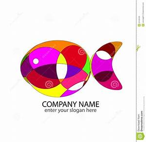 Abstract Fish Logo Royalty Free Stock Images - Image: 25182429