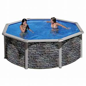 Eclairage Piscine Hors Sol : piscine hors sol cerdagne ronde gre outlet piscines ~ Dailycaller-alerts.com Idées de Décoration