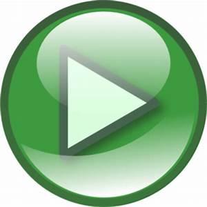 Play Button Opaque  Clip Art at Clker vector clip