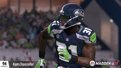 complete madden  seattle seahawks ratings madden school