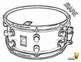Coloring Drum Snare Musical Drums Pages Sheet Percussion Colouring Yescoloring Boys Drumming Majestic sketch template