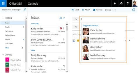 Office 365 Outlook Contacts by Office 365 Outlook Web Mail Will Soon Automatically Add