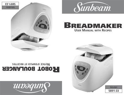 "Bread Maker  Users Guides From ""bread Maker"""