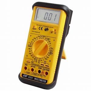 Utilisation D Un Multimètre Digital : multimtre digital cie8007 go tronic ~ Gottalentnigeria.com Avis de Voitures