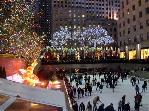 times square christmas tree new york city trip to times square