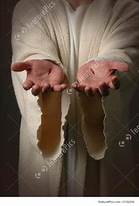 Image Of Jesus Hands With Scars