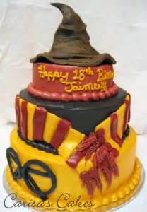 40th Birthday Decorations Nz by Carisa S Cakes 3 Tiered Harry Potter Birthday Cake