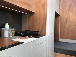 Leonardo Di Chiara : swiss house has foldable bedroom kitchen and bathroom daily mail online ~ Orissabook.com Haus und Dekorationen