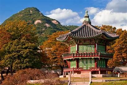 Korea South Seoul Autumn Palace Desktop Mobile