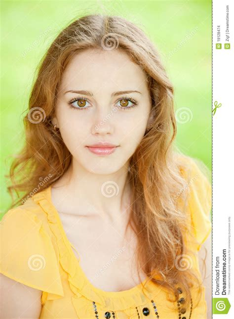 Beautiful Young Girl Stock Images  Image 19128474