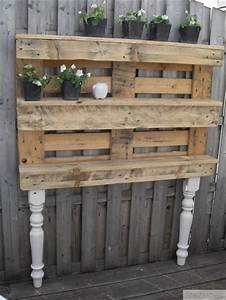 Blumenkasten Aus Paletten : old pallet ideas 32 ideas inspiration pinterest ~ Watch28wear.com Haus und Dekorationen