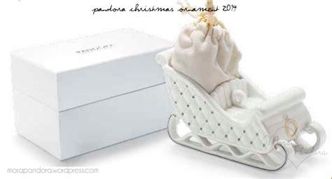 sneak peek pandora christmas ornament 2014 mora pandora