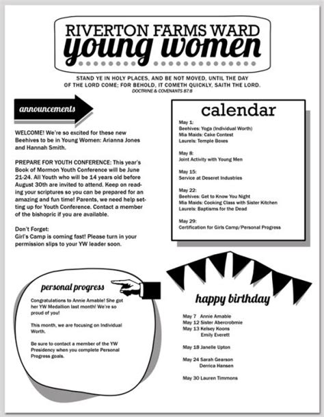 39 Best Images About Church Newsletter On Pinterest | Newsletter Templates Sunday School And ...