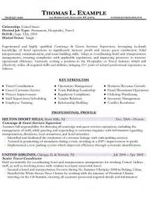 new type of resumes resume sles types of resume formats exles and
