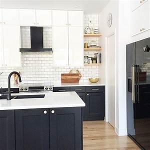 modern kitchen black and white kitchen kitchen design With kitchen designs with black appliances