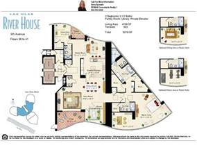 house floorplan las olas river house condos on the new river in fort lauderdale floor plans