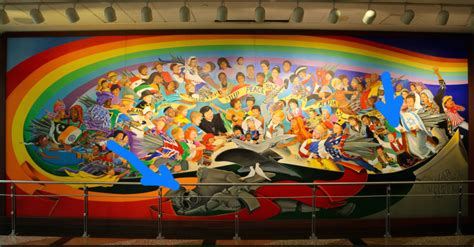 Denver Airport Murals Painted by The Denver Airport Will Be A Paradise After Our