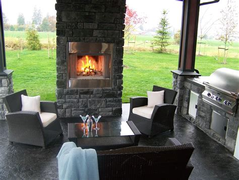 basement window casing ideas covered outdoor kitchens patio traditional with barbecue