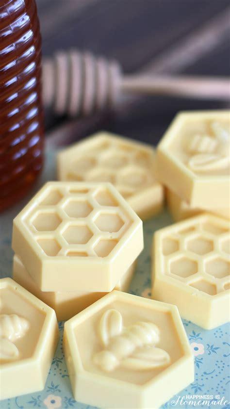 minute diy milk honey soap happiness  homemade