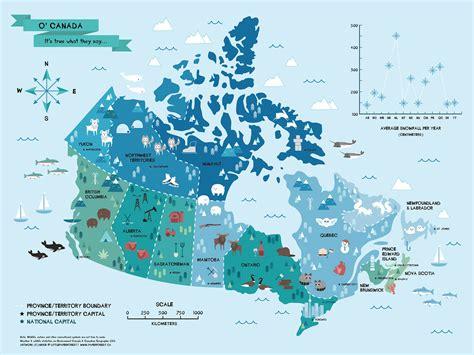 map  canada  littlepaperforest  deviantart