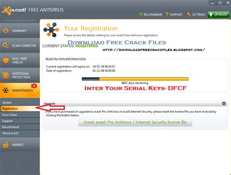 Get Free Avast 8 Antivirus With Valid Licence + Serial