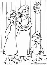 Coloring Pan Pages Peter Visit Disney Adult sketch template